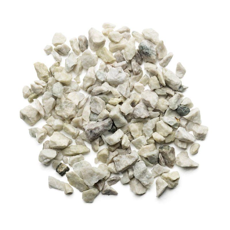 Kekkilä Koristekivi Valkoinen gabro kosteana