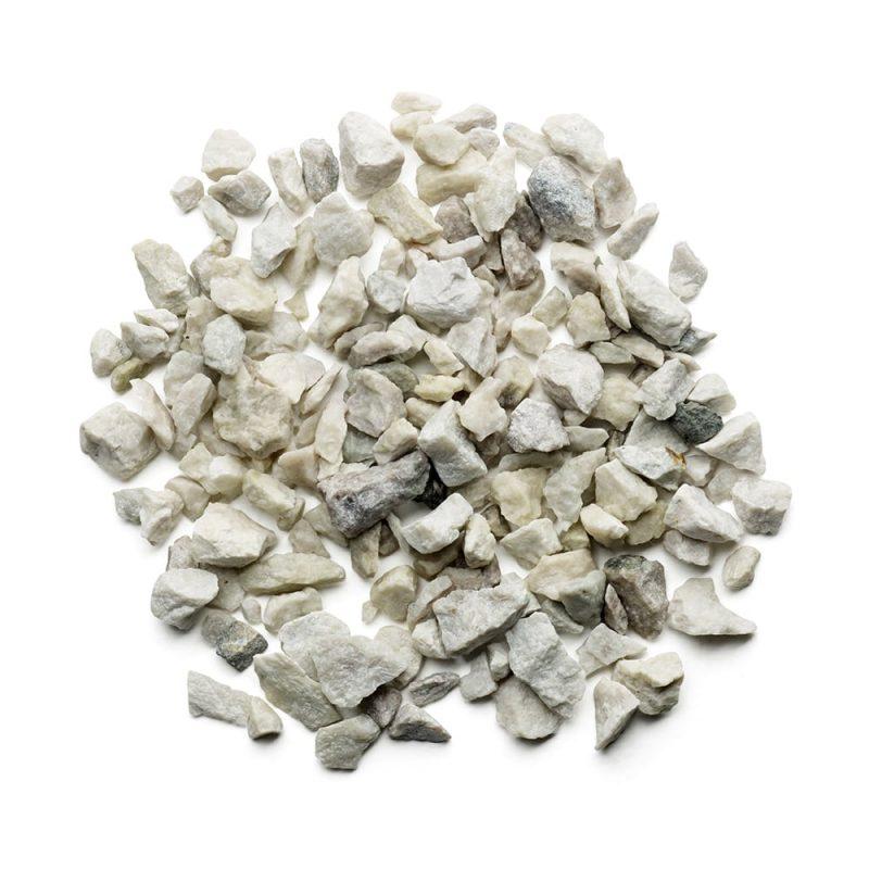 Kekkilä Koristekivi Valkoinen gabro kuivana