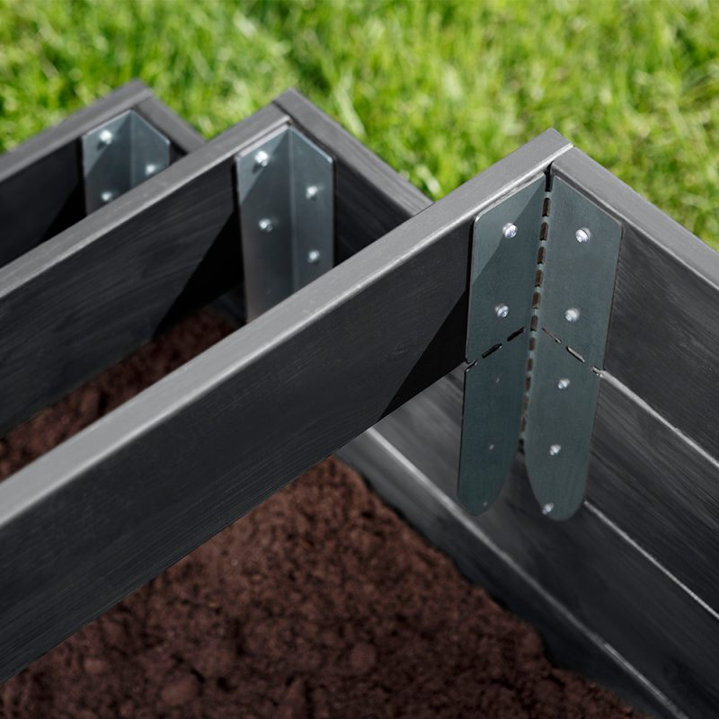 Kekkilä Laajennushelat viljelylaatikolle mahdollistavat viljelylaatikoiden päällekkäin asettelun