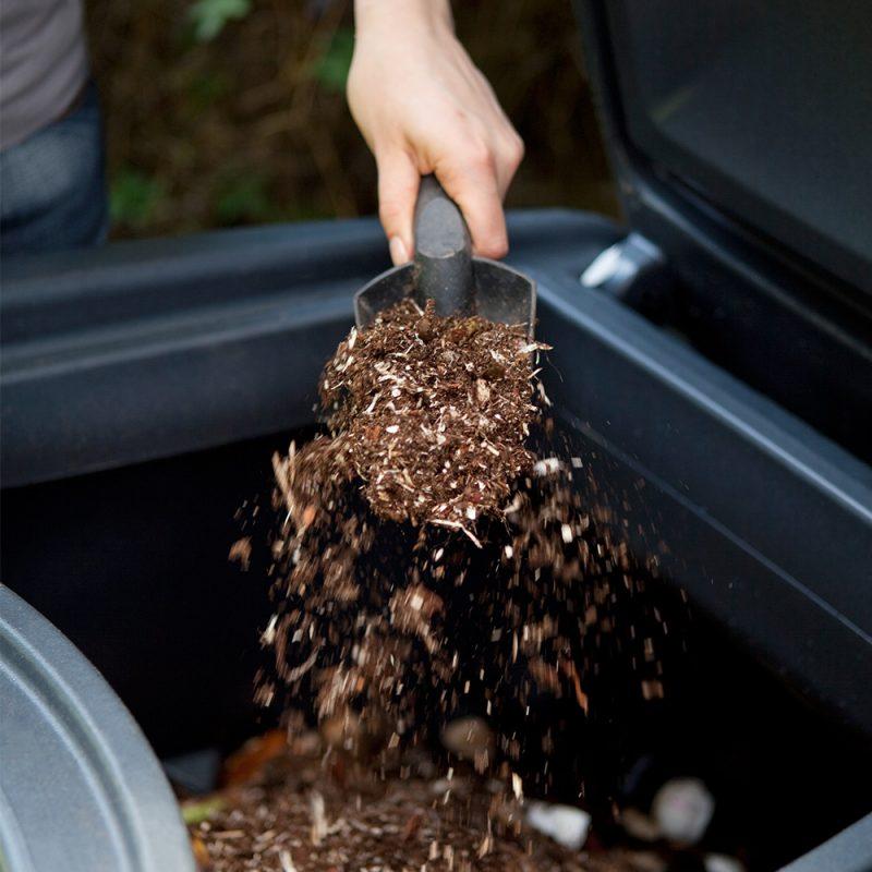 Kekkilä Kompostikuivike käytössä