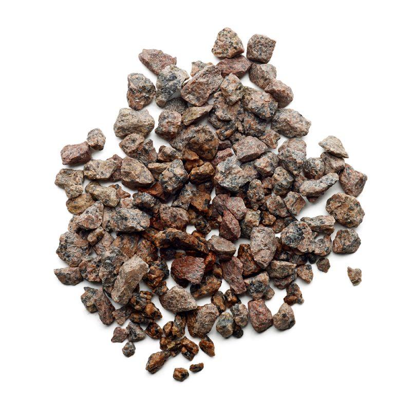 Kekkilä Koristekivi Punainen graniitti kuivana