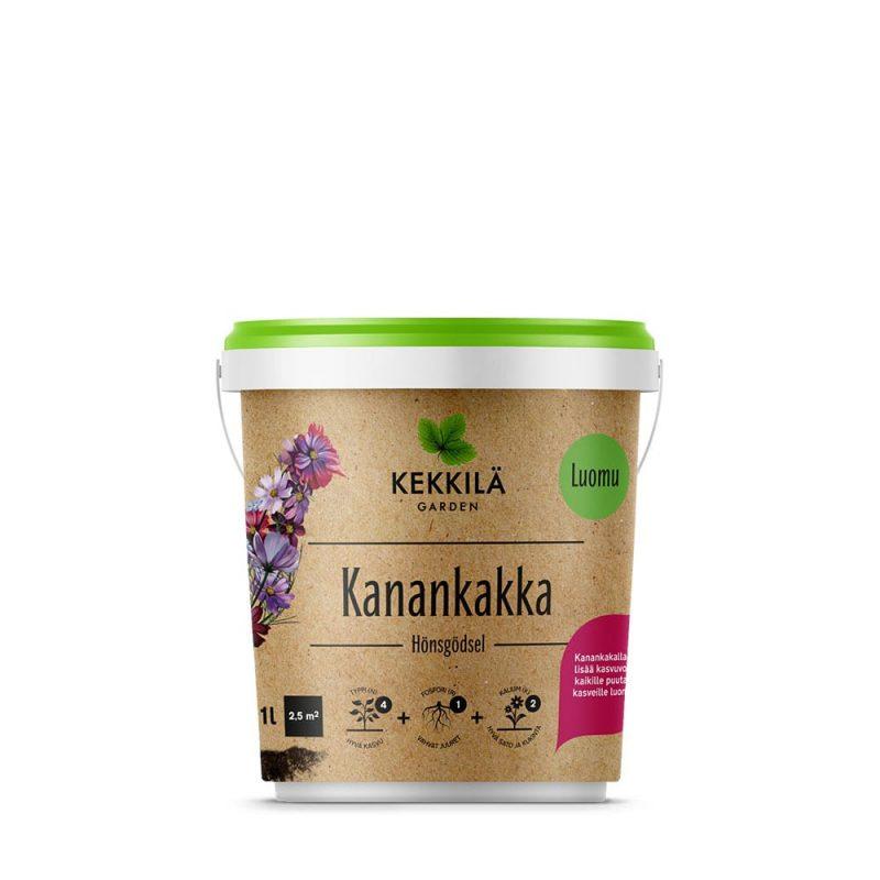 Kekkilä Kanankakka 1 kg pakkaus