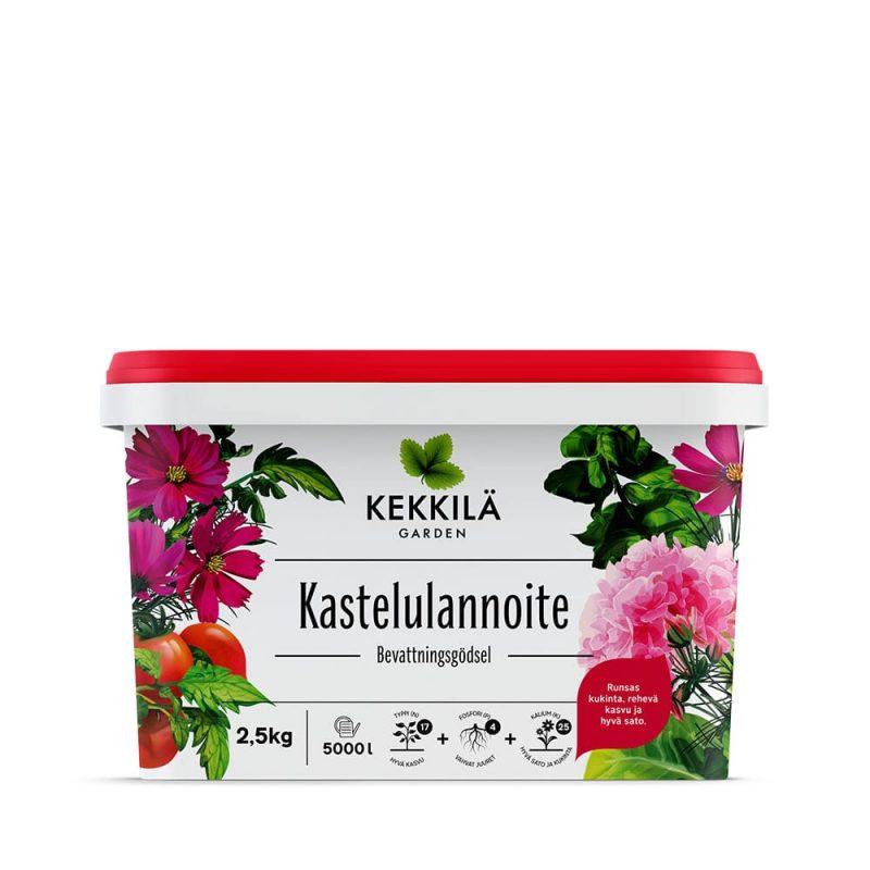 Kekkilä Kastelulannoite 2,5 kg pakkaus
