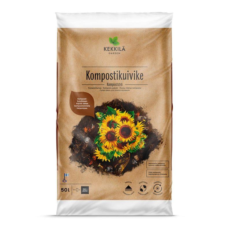 Kekkiklä Kompostikuivike 50 L uusi pakkaus
