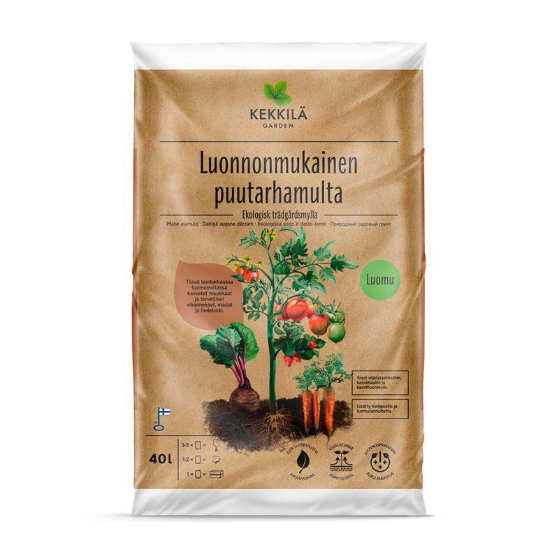 Kekkilä Luonnonmukainen puutarhmulta uusi pakkauskoko