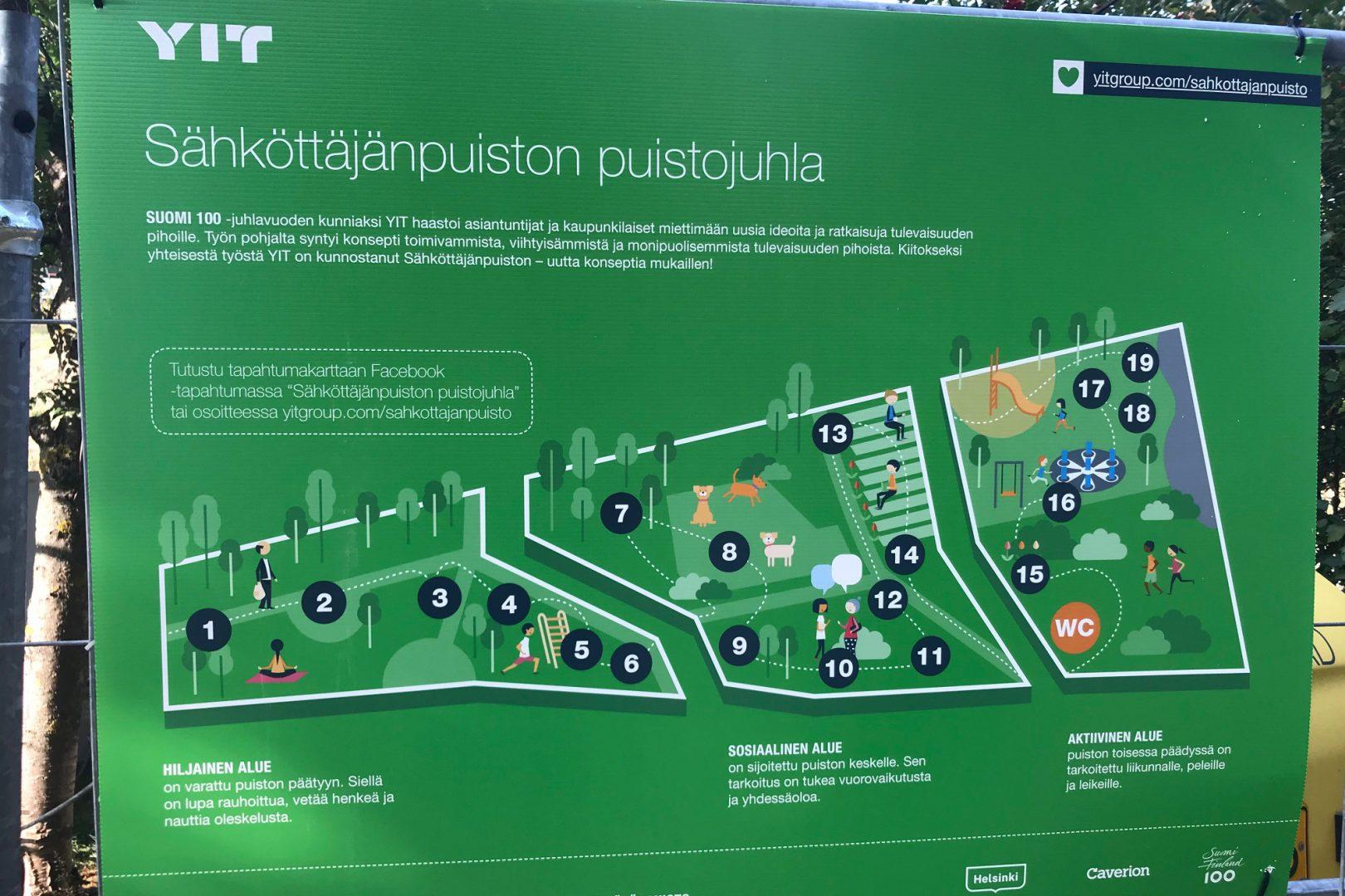 Kekkilä kohde-esittely Pasila Sähköttäjänpuisto