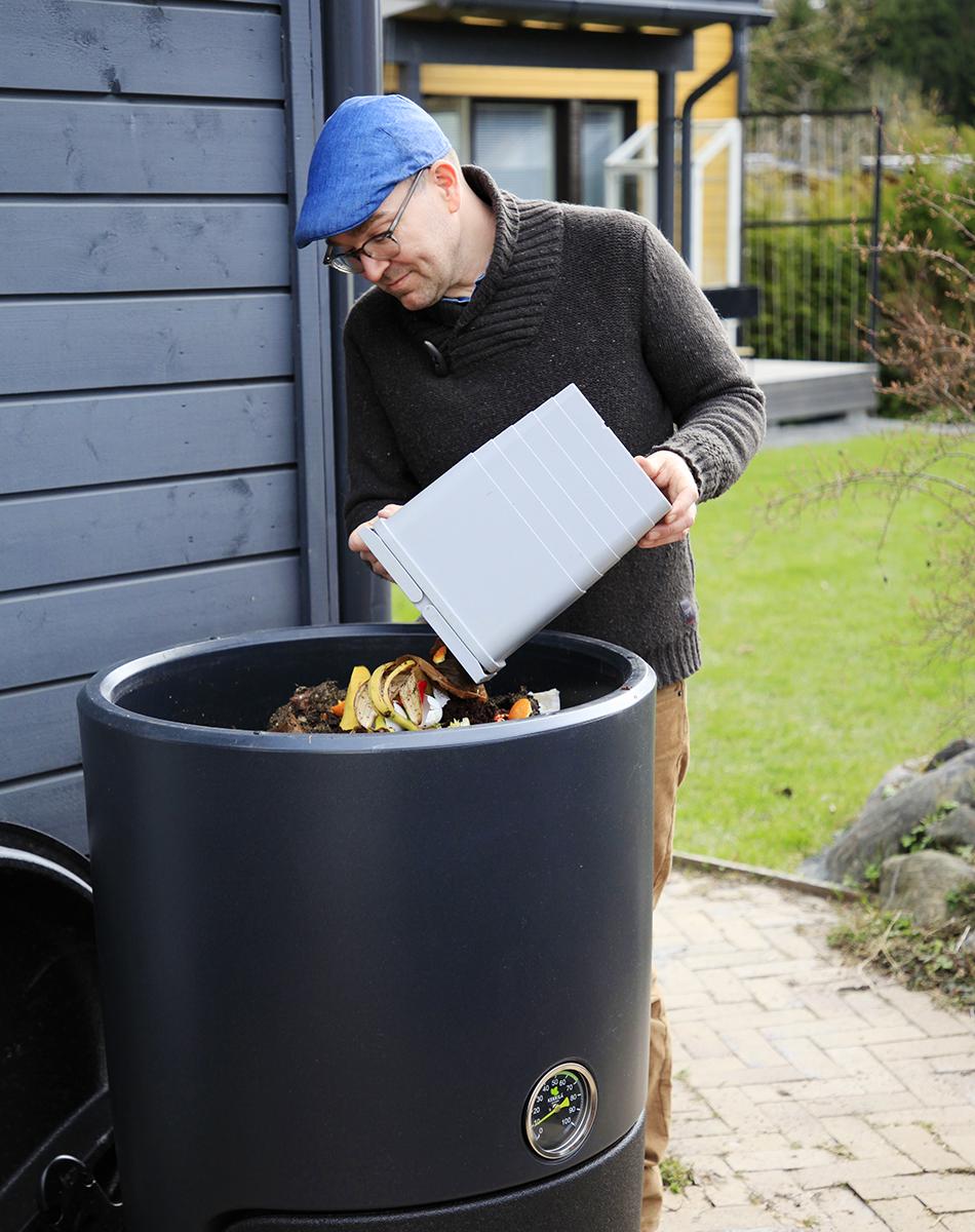 Helppo kompostointi Kotikompostori Kekkilä