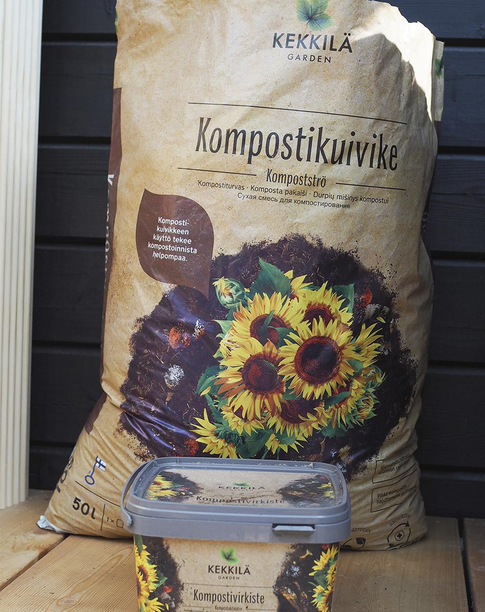 kompostikuivike ja kompostivirkiste